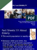 7.1. Elderly and Diasbility