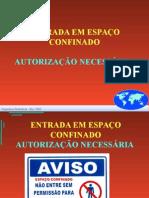 ESPAÇO CONFINADOS - treinamento.ppt