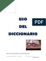 3. Uso Diccionario