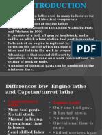 Unit-II-Capstan & Turret Lathe