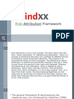 Risk Attribution Framework