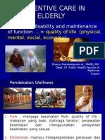 7.2 Prevntive Care in Elderly