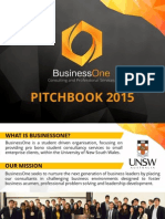 BusinessOne Pitchbook