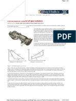 Performance Control of Gas Turbines