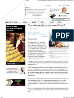 Can India Really Be the 'Next China'_ - The Economic Times