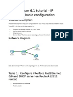 VoIP Config Packet Tracer