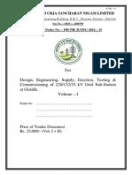 Substation tender document