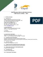Programa Prova Promocional Cepel e Chevals 2015 2