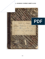 George J. Cooper's ship's logbooks