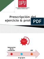 Prescripción Del Ejercicio en AM y protocolo de tesis