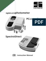 Spectrofotometru SpectroDirect(de La Lovibond)