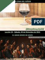 Lección 23 - La Cena Del Señor