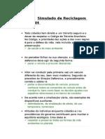 DETRAN/RJ - Simulado de Reciclagem de CNH