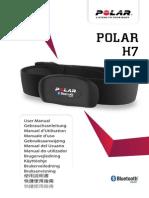 Polar H7 Heart Rate Sensor Accessory Manual English
