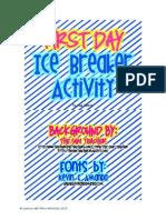 Spanish First Day Icebreaker