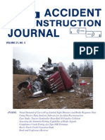 Accident Reconstruction Journal May/June 2011