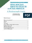 Using Social Stories to Teach Social Skills