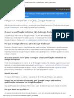 Perguntas Frequentes Da QI Do Google Analytics - Ajuda Do Google Analytics