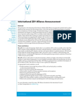 ZEV Alliance COP21 Announcement, 3 Dec 2015