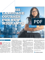 English-Language courses for new migrants