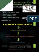 Estados Financieros, Impuestos, Flujo de Efectivo (3) Mis Carolina222222