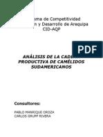 Análisis de La Cadena Productiva de Camélidos Sudamericanos