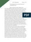 ecological studies forum post