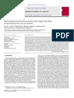 Los Estudios Experimentales y Teóricos de Dopados-Fe TiO 2 Películas Preparadas Por Peroxo Método Sol-gel