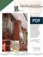 Prospectus Kegg Pipe Organ Builders