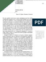 GUBA LINCOLN 2002 Paradigmas en Competencia en La Investigacion Cientifica