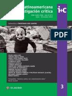 R. Latinoaméricana de Investigación crítica