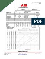 Electric Motor 15HP Data sheet