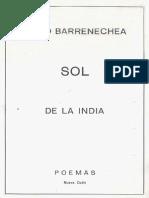 El Sol de La India - Julio Barrenechea