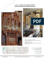Prospectus Paul Fritts and Co Organ Builders
