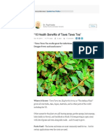 Tawa Tawa - 10 Health Benefits