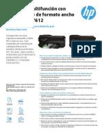 Ficha Técnica Impresora HP 7612
