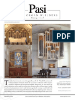 Prospectus Pasi Organ Builders Incorporated