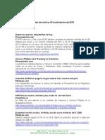 Boletín de Noticias KLR 03DIC2015