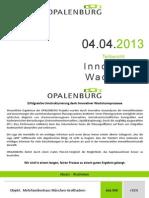Opalenburg Vermögensverwaltung Erfahrungen
