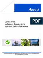 ARPEL - Índices de Energía en La Industria Del Petróleo y Gas