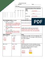 Decimal Study Guide_key