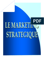 Cours de Marketing Strategique