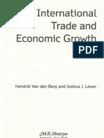 Internat Trade and Econ Growth Chapt 5