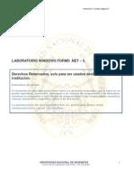 LABORATORIO WINDOWS FORMS .NET – 5