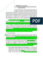RESUMEN // Cuestión Mapuche, descentralización del Estado y autonomía regional (Marimán, 2012)