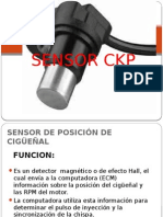 Sensor Ckp y Cmp