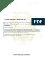 LABORATORIO WINDOWS FORMS .NET – 7