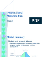 Business Plan Marketing Presentation Template