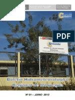 DATOS METEOROLOGICOS MOQUEGUA