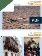 Traza Urbana en La Ciudad de Cusco